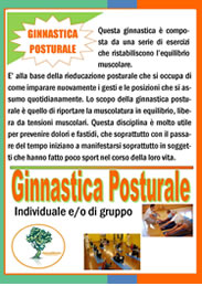 Ginnastica Posturale | Lezioni Individuali e di gruppo  Associazione Culturale NaturalMente