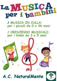 La Musica per i Bambini | Corsi di musica per bambini da 0 a 5 anni | Associazione Culturale NaturalMente